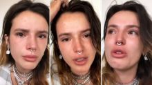Bella Thorne tearfully hits back at Whoopi Goldberg for suggesting nude photo hack was her fault
