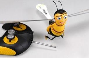 WowWee's radio-controlled Barry B. Benson flying Bee