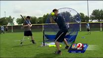 Disabled children spend week at Disney for softball camp