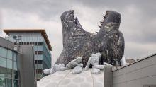 Godzilla bursts out of Hollywood cinema