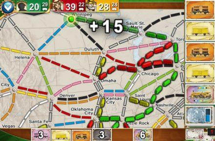 Daily iPhone App: Ticket to Ride Pocket