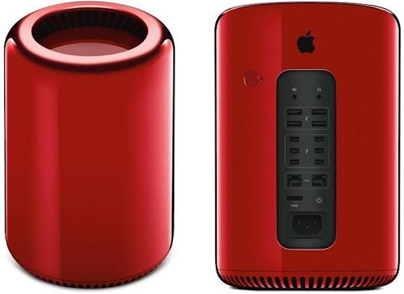 Jony Ive turns Mac Pro RED for charity