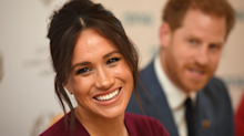 Meghan Markle stuns in her go-to monochromatic look for fall