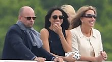 Meghan Markle watches boyfriend Prince Harry play polo - with a host of other famous faces