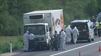 Up to 50 refugees found dead in truck in Austria