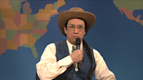 Weekend Update: Native American Comic Billy Smith
