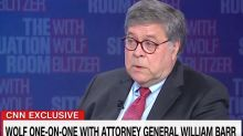 Attorney General Barr won't agree it's illegal to vote twice, as Trump urged, claims ignorance of state laws