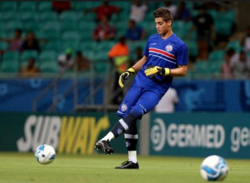 Joia do Bahia, goleiro Jean interessa a gigante europeu, diz agente