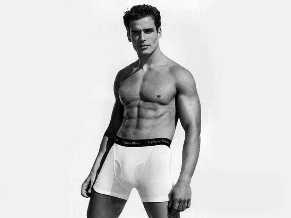 Antonio Sabato Jr. became famous as a Calvin Klein underwear model and a soap star. (Photo: Calvin Klein)