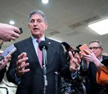 Sen. Joe Manchin, a Democrat, says he will fight for Republicans to get a say in Biden's infrastructure bill and block it if they don't