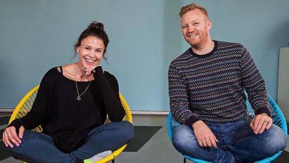 Entrepreneurs: Baby's sudden arrival wasn't even a stretch for yoga couple