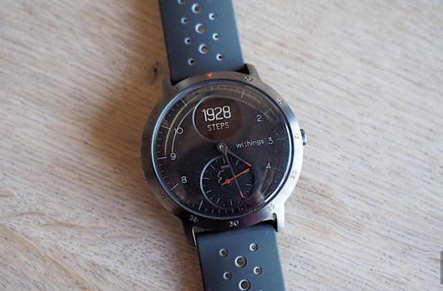 Get $66 off Withings' low-key Steel HR smartwatch