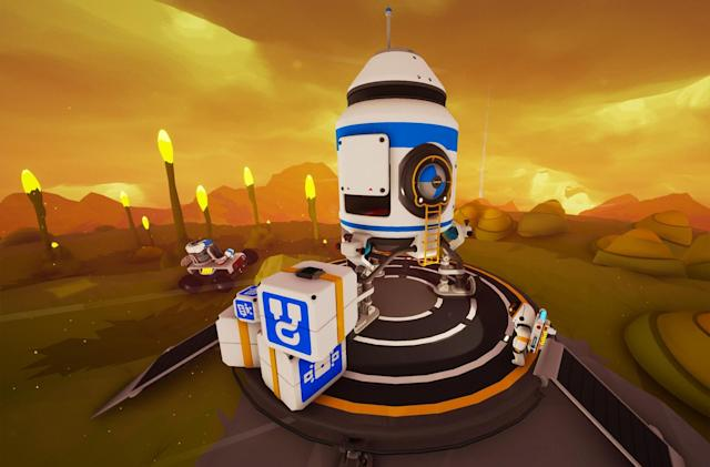 Planet-shaping survival game 'Astroneer' launches tomorrow