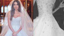 Vestido de noiva de Thaila Ayala levou 1,5kg de pedrarias e tem significado que irá te derreter de amor!