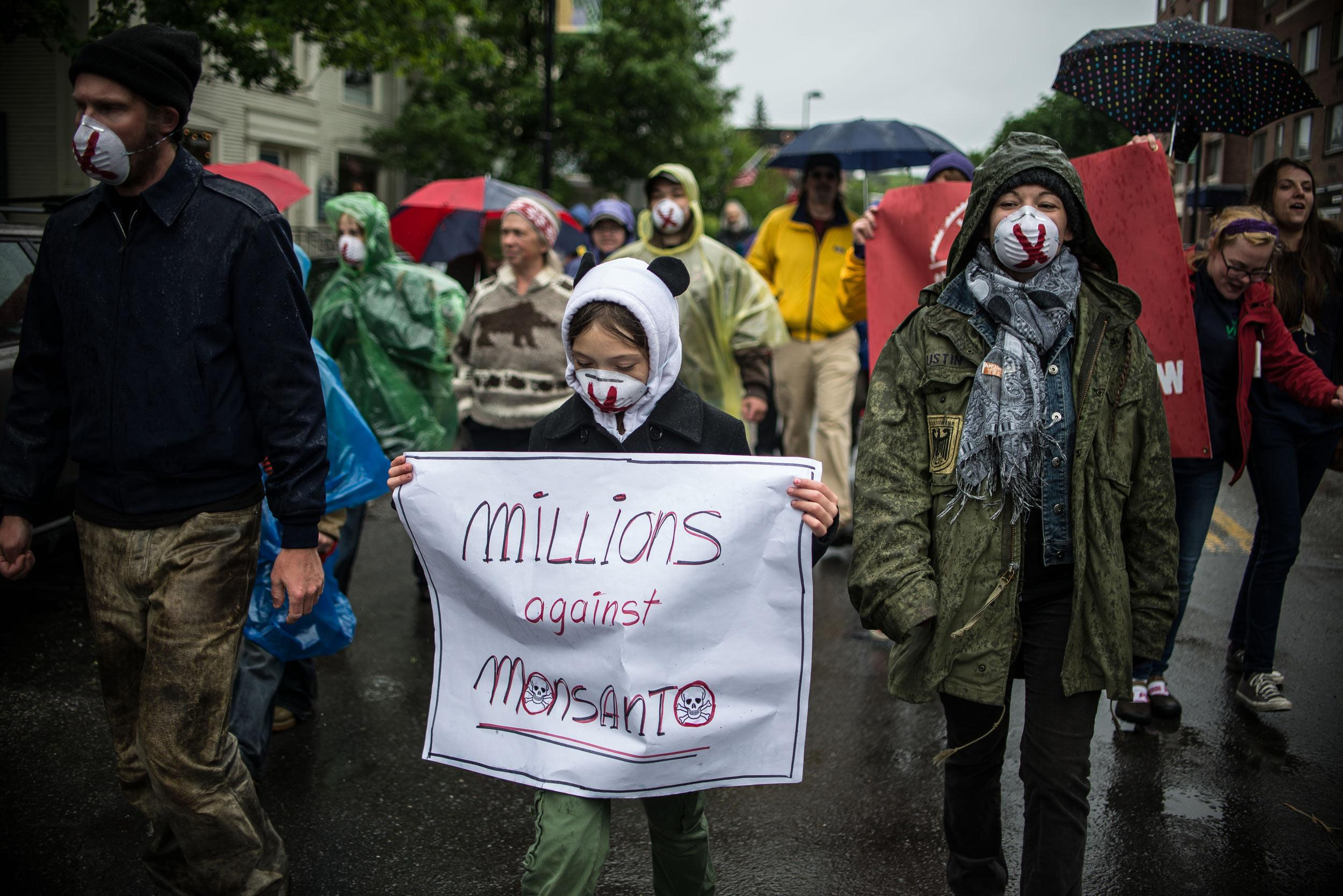 Protesters across globe rally against Monsanto