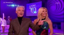 Phillip Schofield tests the censors on Dancing on Ice