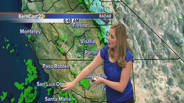 Valley rain this morning, mtn snow flurries later