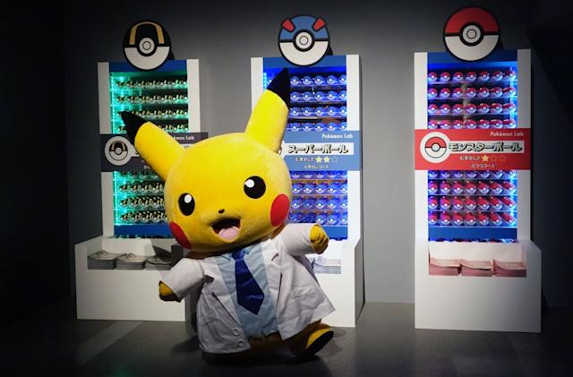 A visual tour of the Pokémon Research Lab