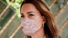 The best Duchess of Cambridge-inspired floral face masks