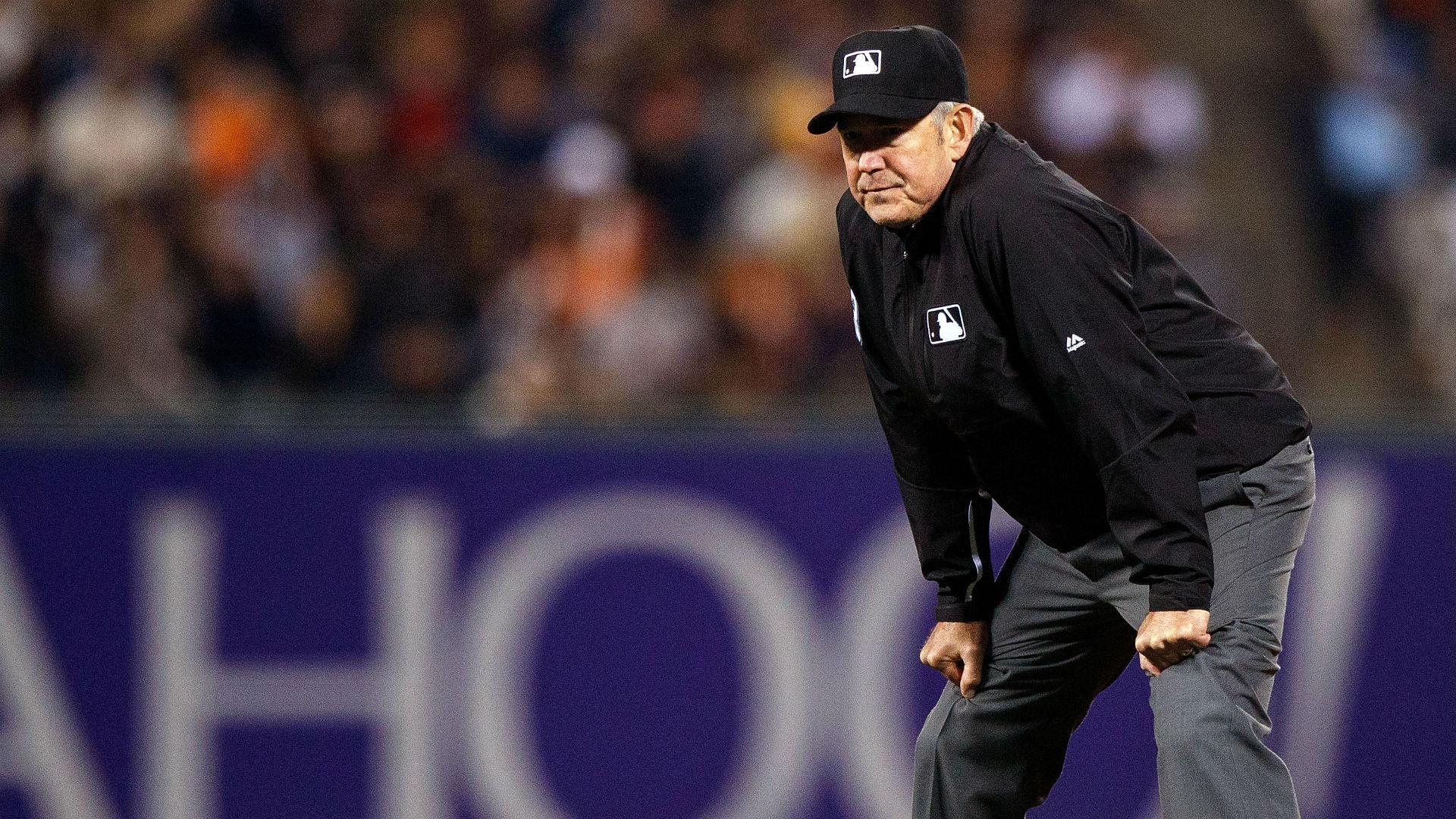 bff5b4f4786335 MLB playoffs: Umpires for AL, NL Division Series