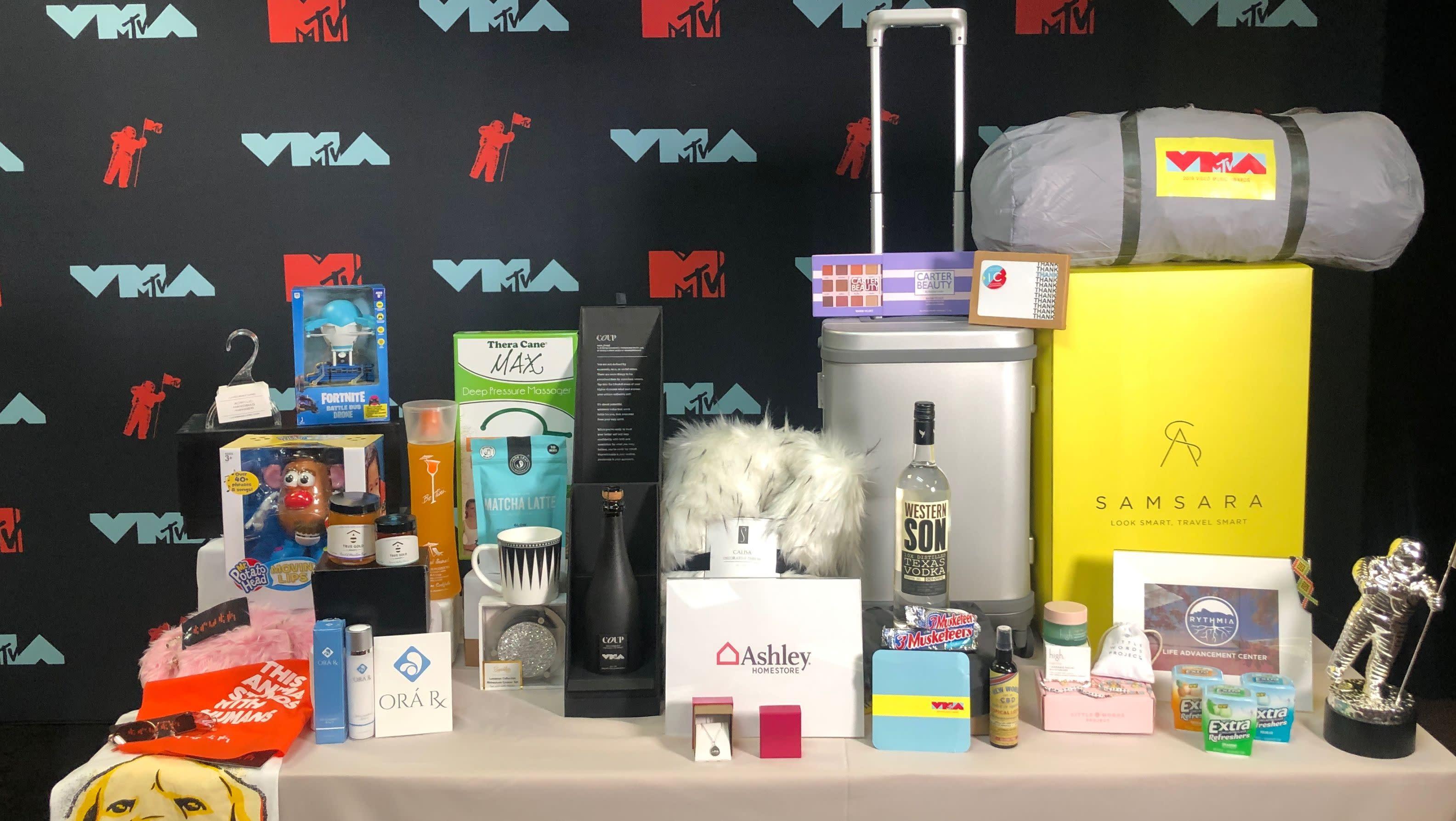 MTV VMA Swag Bag Includes CBD Products & 'Fortnite' Drones