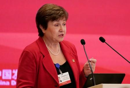 IMF executive board recommends scrapping age limit for Georgieva
