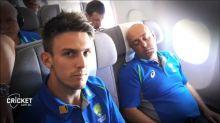 Marsh, Siddle play a prank on sleeping Lehmann