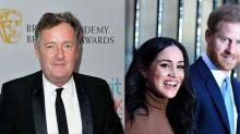 """Piers Morgan acusa a Meghan Markle de """"separar"""" al príncipe Harry de la familia real tras el anuncio de la pareja"""