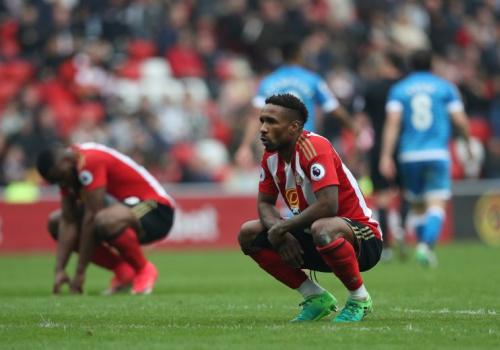 Sunderland are relegated