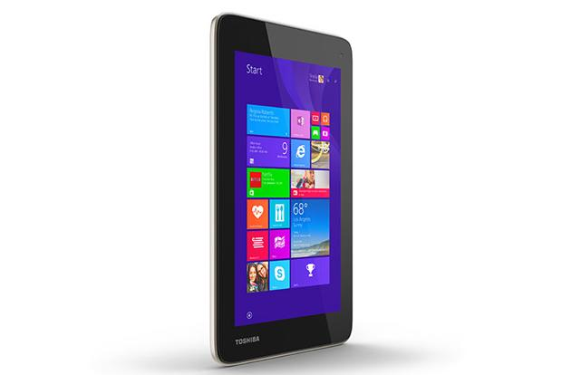 Toshiba stuffs Windows into a 7-inch tablet, whether you want it or not