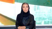 Una mujer presenta por primera vez el informativo nocturno de la televisión saudí