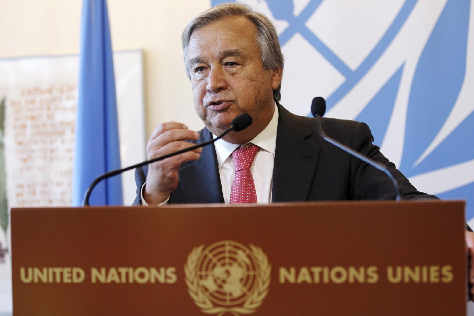 the un secretary general In his end-of-the-year address, united nations secretary-general antónio guterres warned that the world is on red alert over a litany of issues.