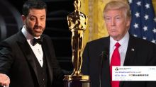 Kimmel sends Twitter into meltdown as he contacts Trump LIVE from Oscars