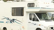 Mystery after body found inside campervan at NSW rest stop