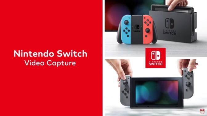 El Switch se actualiza para poder grabar videos y pre ordenar juegos