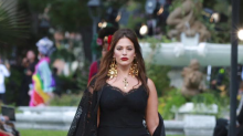 Ashley Graham walked in a Dolce & Gabbana show and fans don't know what to think