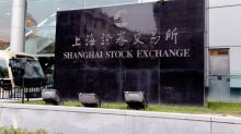 Asian Shares Mostly Lower, but China's Shanghai Index Posts Modest Gain