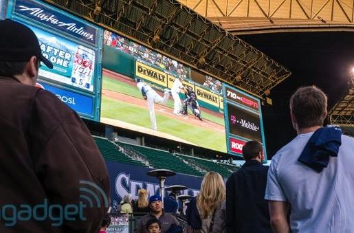 Visualized: Seattle Mariners unveil 'largest screen in Major League Baseball'
