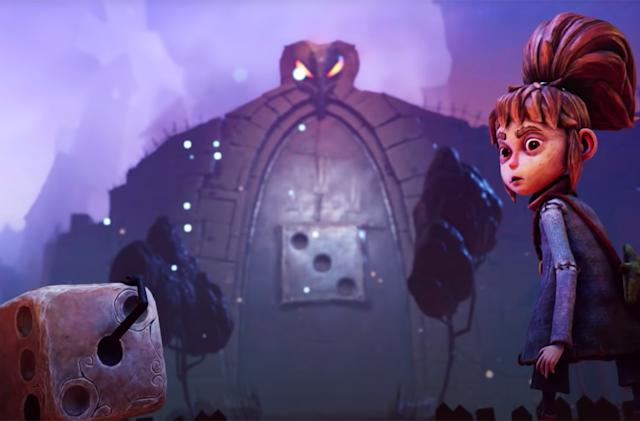 'Lost in Random' is a Tim Burton-like adventure game about dice