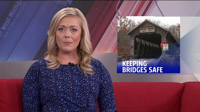 Community Works To Make Sure Historic Bridges Aren`t Set On Fire
