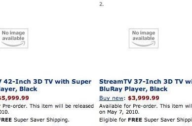 StreamTV's 42- and 37-inch 3D TVs don't require glasses, do include Blu-ray, might not exist