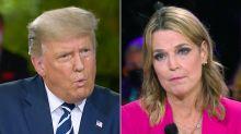 Savannah Guthrie Presses Trump at Town Hall on His Coronavirus Diagnosis and Last Negative Test