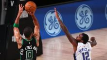 Jayson Tatum delivers down the stretch in Celtics win over Magic