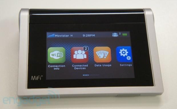 Novatel MiFi 2 interface and housing refresh hands-on