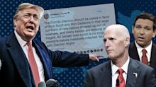 Trump makes baseless 'infected' ballot claims amid Florida recount