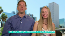 Meet the couple who orgasm for up to 18 hours a day just by hugging