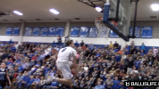 Dunking machine breaks Iverson's HS record