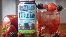 This Triple Berry Hard Cider Is A Perfect Late Summer Drink