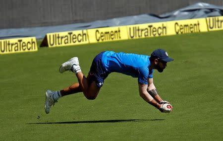 Cricket - India v Australia - India team practice session
