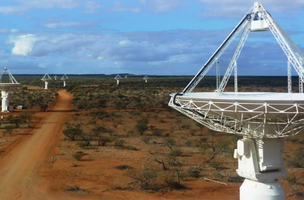 Australia Square Kilometre Array Pathfinder goes live as the world's quickest radio telescope